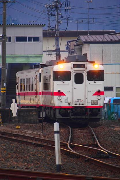 八戸線 久慈駅