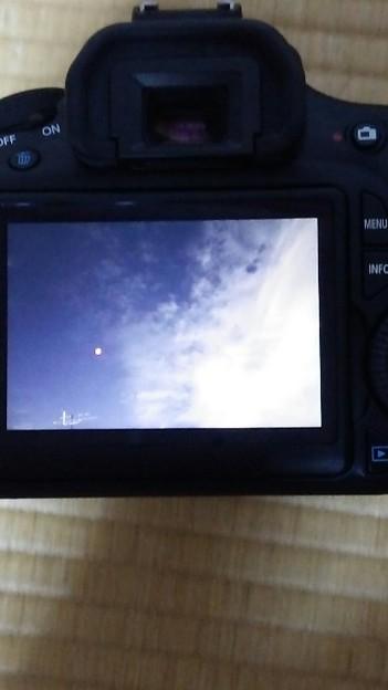 皆既月食撮影した