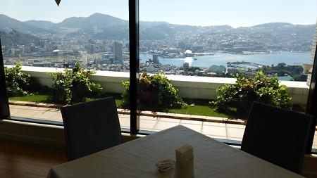 朝食からの眺め