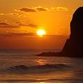 写真: 鵜の尾岬・日の出