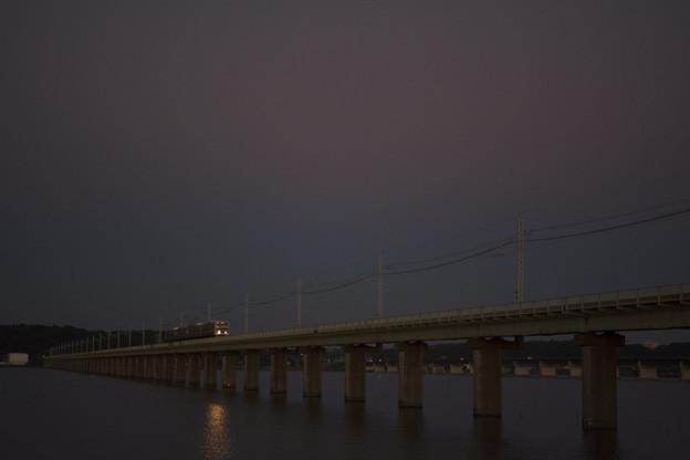 Photos: 紫色の空