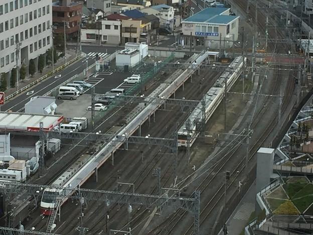 写真: 献血ルームからの眺め