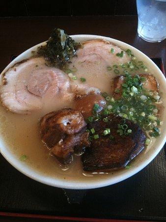 櫻島 チャーシュー麺