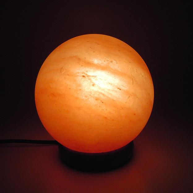 ヒマラヤ岩塩 ランプシェード 球体