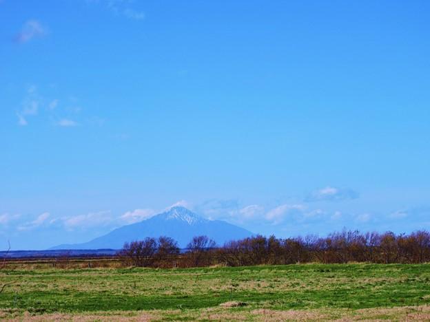雪の利尻富士-2