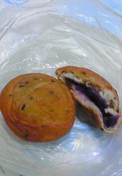 紫芋餡ドーナツ(2007年)