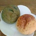 Photos: よもぎパン&チーズパン(2007年)