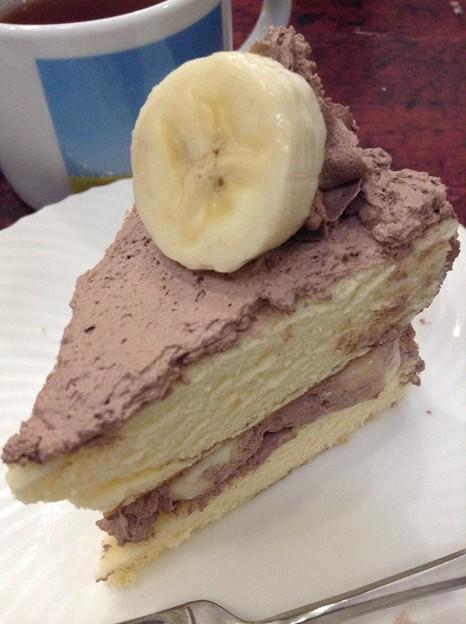 チョコバナナケーキ・アップ