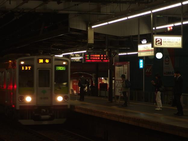 京王線桜上水駅2番線 都営10-250F区急調布行き進入