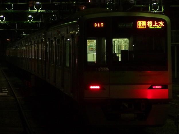 京王線桜上水駅2番線 都営10-360F各停桜上水行き