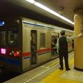 都営浅草線三田駅2番線 京成3658F快速佐倉行きベル扱い
