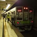 京王新線初台駅2番線 都営10-270F急行新線新宿行き反応点灯