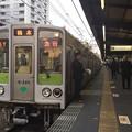 Photos: 京王線笹塚駅2番線 都営10-240F急行橋本行き通過待ち