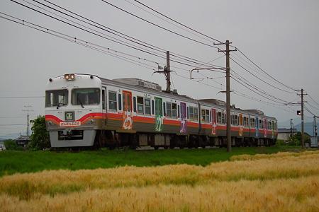 伊予鉄道創立125周年記念電車