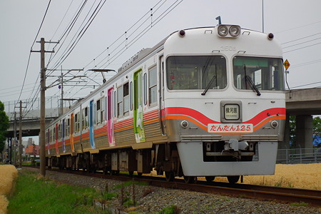 伊予鉄道創立125周年記念電車 1