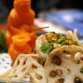 Photos: レンコンの山椒炒め