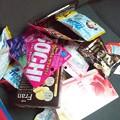 Photos: お菓子いっぱい買いました
