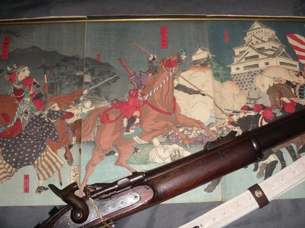 浮世絵とスナイドル銃