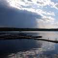 The Rays Shining the Water 5-25-14