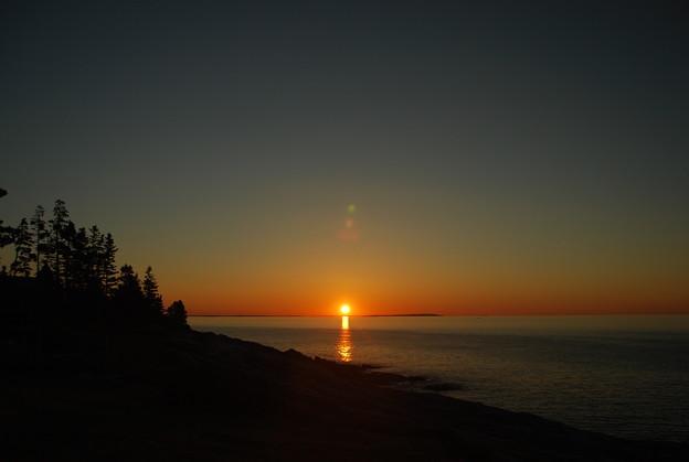 The Sunrise at Pemaquid Point 8-20-14