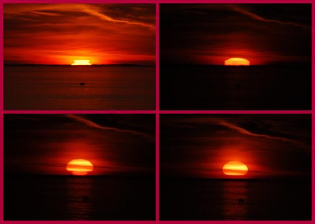 写真: Monhegan Sun 8-21-14