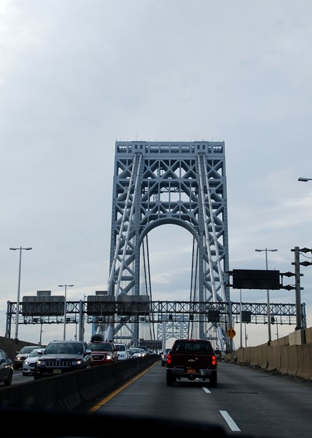 Photos: George Washington Bridge 2-25-15