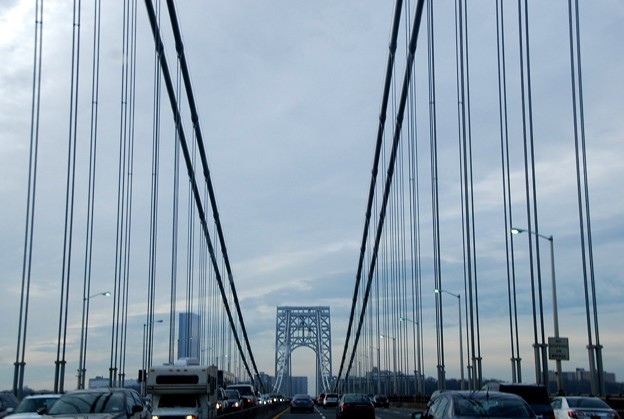 On George Washington Bridge 12-25-15