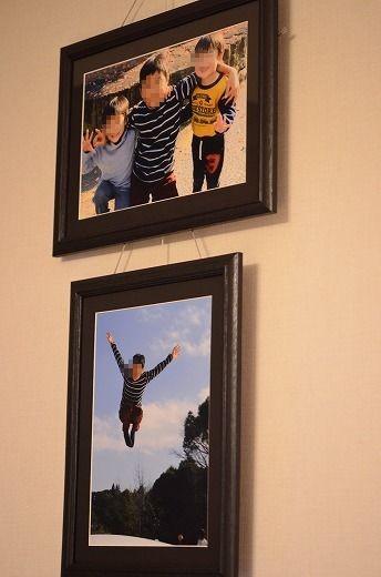 写真: 壁掛け写真