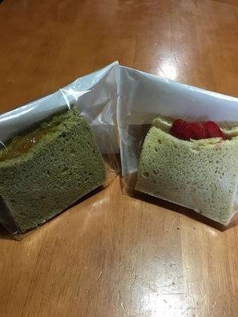 国産・無農薬などでこだわったシフォンケーキゲト!