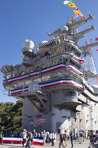 Photos: 航空母艦「ロナルド・レーガン」3