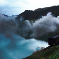 写真: 只見線 SL 越後川口発車