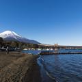 Photos: 山中湖湖畔から