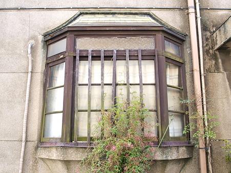 クラシックな出窓
