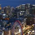 文京シビックセンターから丸の内方面を望む