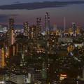 文京シビックセンターから池袋方面を望む