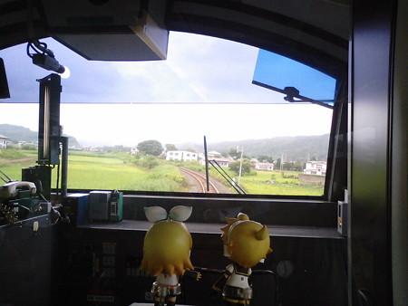 久慈→陸中夏井間。 キハ48系改とは思えない滑らかなエンジン音です。...