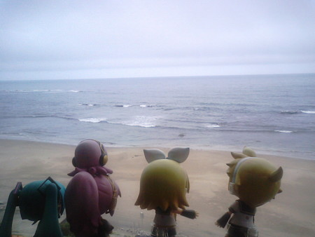 有家→陸中八木間。 リン:「うみうみ海海海ー~!! ミク:「うみ...