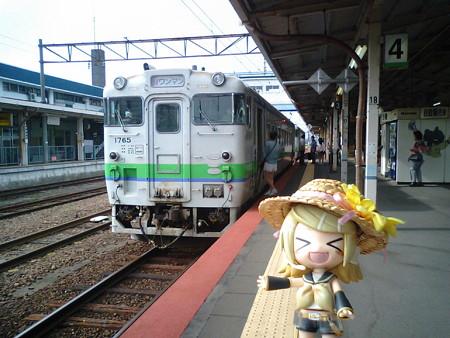 ■滝川  8:05 → 富良野 9:09  3425D 快速