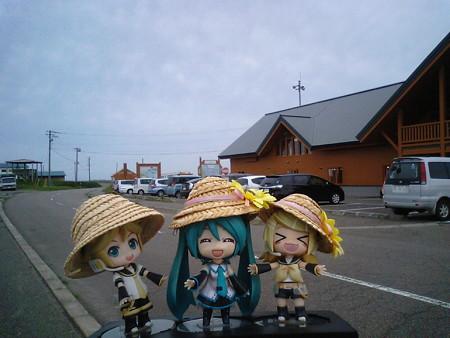 トドワラ、ネイチャーセンターに到着しました!