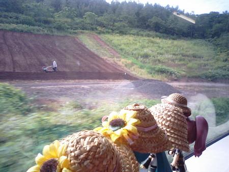 小樽→塩谷間。小樽駅を出ていきなり、20パーミルくらいの登り坂が延...