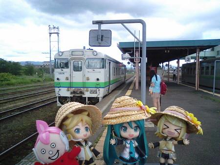 それでは、函館本線上りの旅を再開します。 まんべ:「また来いよ、...
