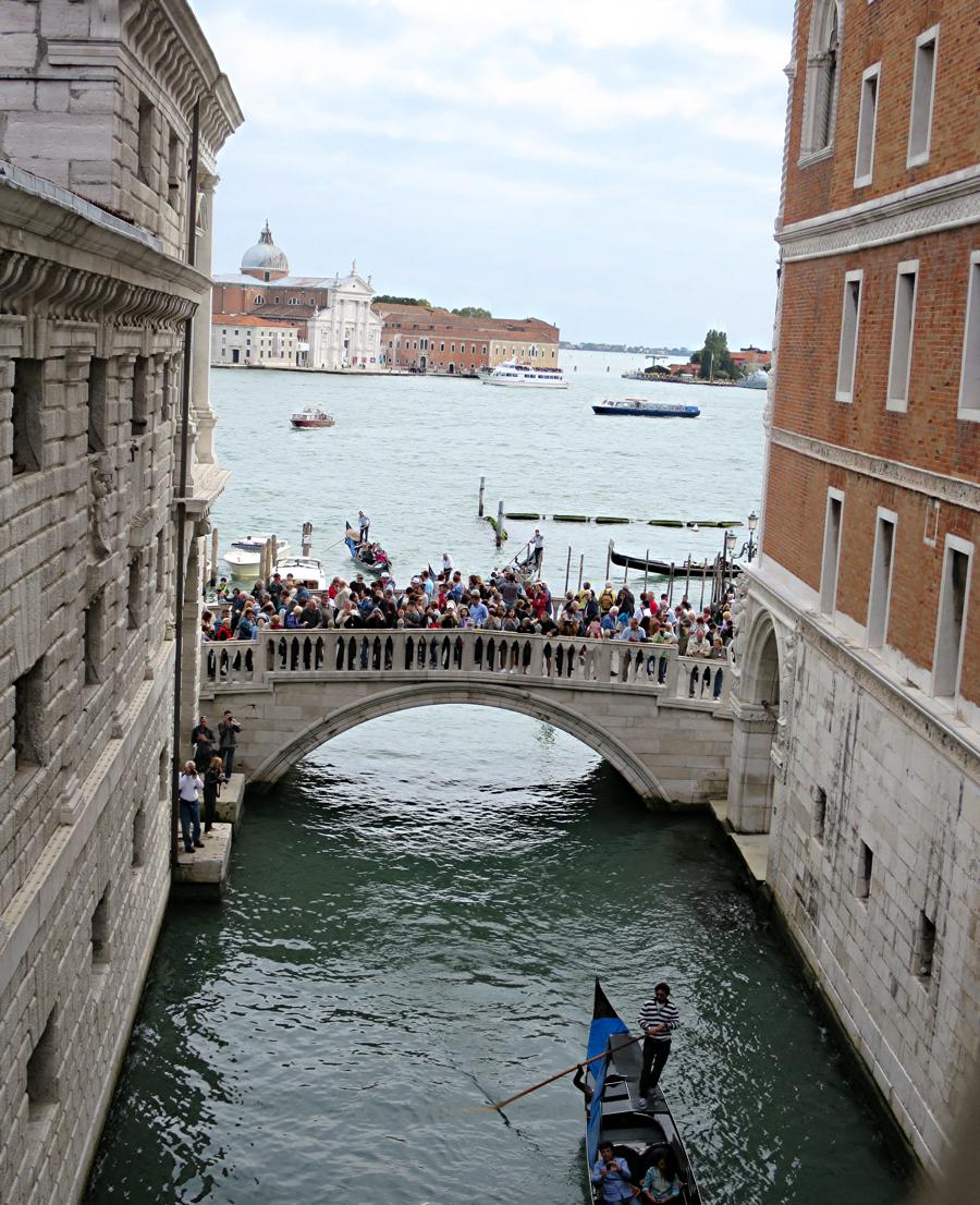 ためいき橋からの眺め