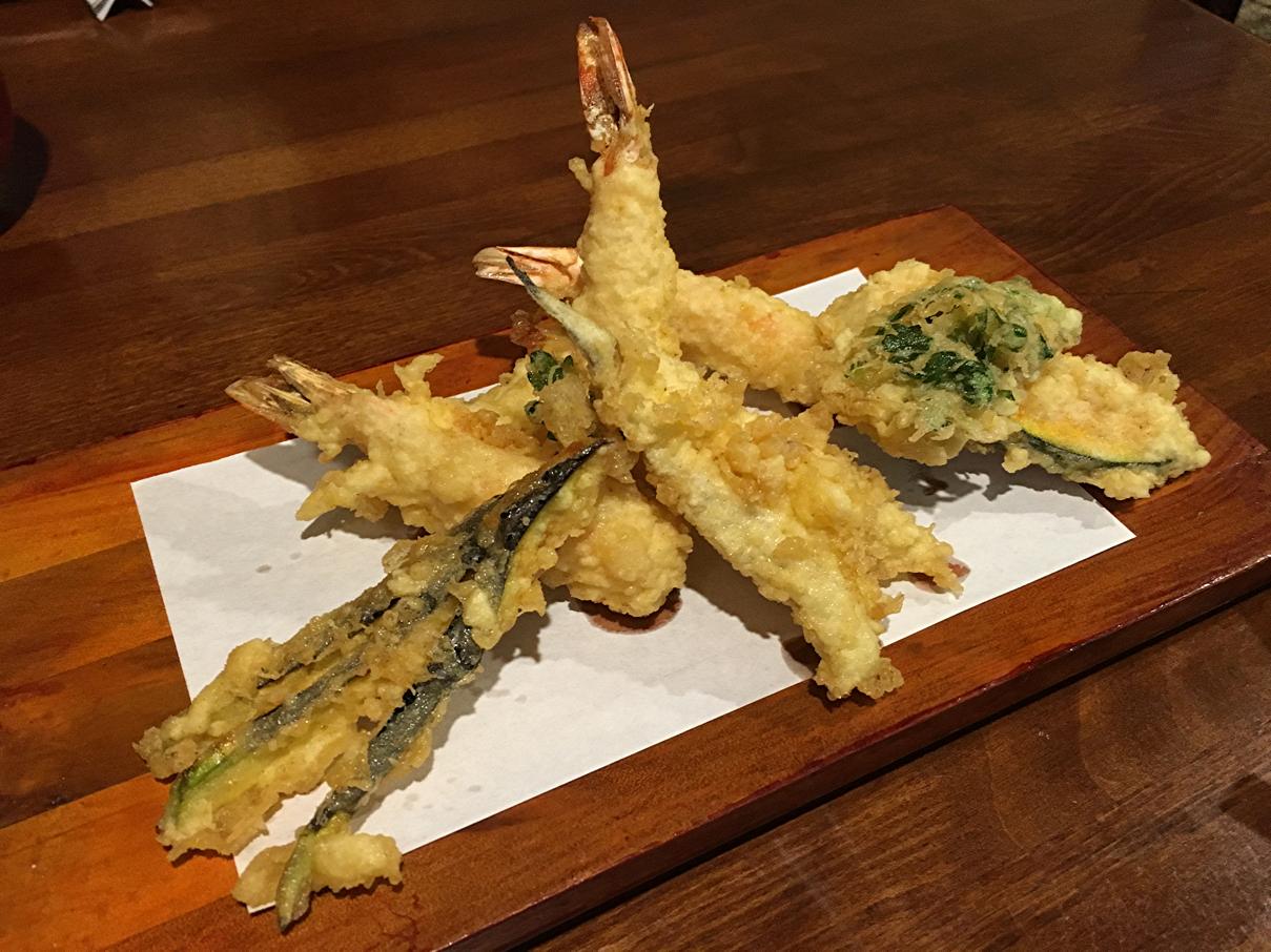 天ぷら定食B
