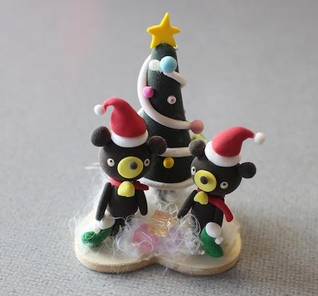 クマちゃんたちのクリスマス