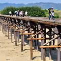 Photos: 2016_0416_144123_八幡ながれ橋復旧