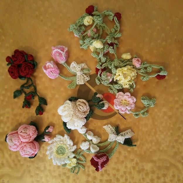 写真: お花モチーフで