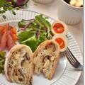 Photos: 珈琲マーブルと渋皮栗のカンパーニュで朝ごパン