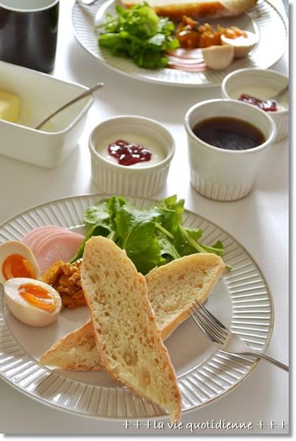 Photos: バゲットde朝ごパン