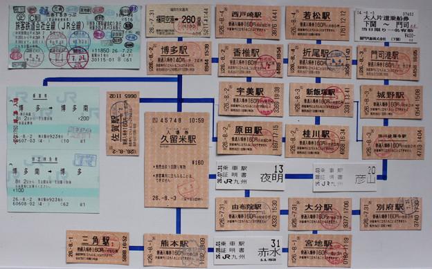 Photos: 2014年夏/鉄旅の成果