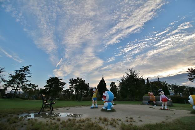 今朝の雲(2014年9月7日)